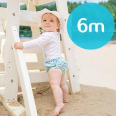 iPlay: 6 months Snap Reusable Absorbent Swim Diaper