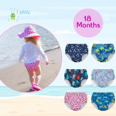 iPlay: 18 months Pull Up Reusable Absorbent Swim Diaper