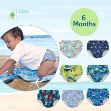 iPlay: 6 months Pull Up Reusable Absorbent Swim Diaper