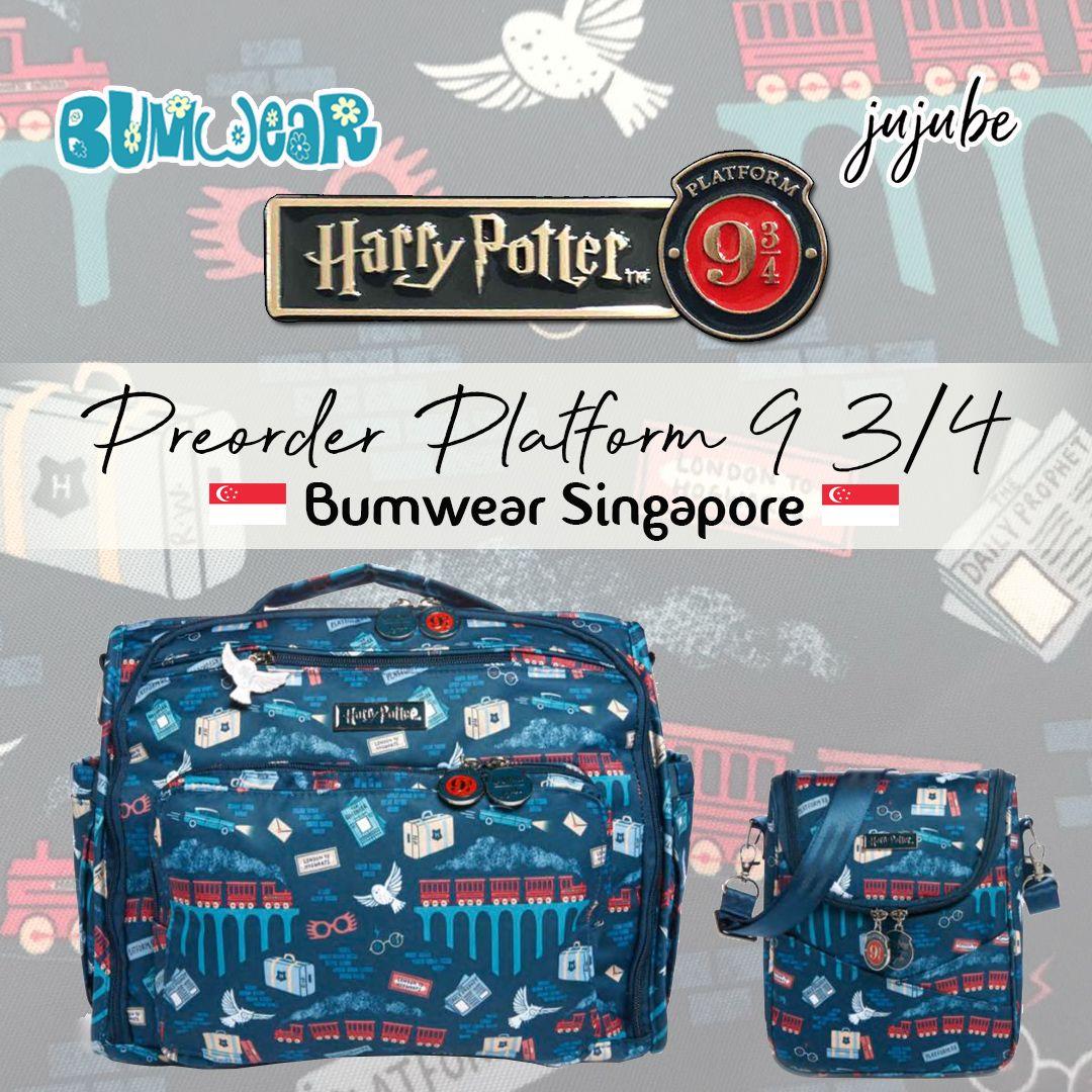 Ju Ju Be Harry Potter Be Right Back Platform 9 3//4 Backpack Baby Diaper Bag NEW
